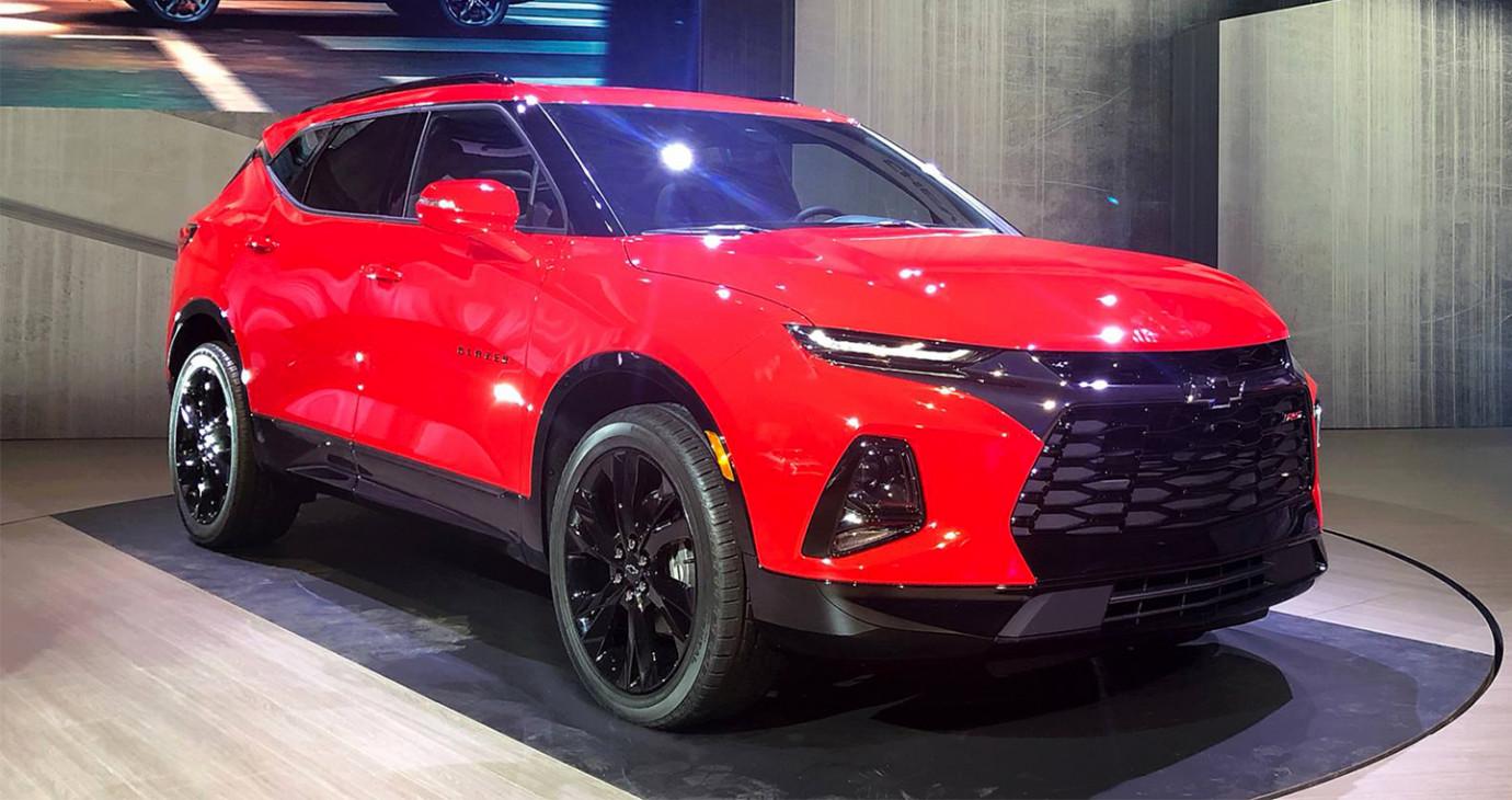 Chevrolet trình làng Blazer 2019 với thiết kế đậm chất tương lai