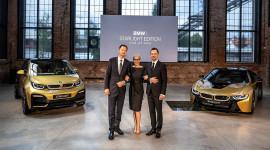 BMW i8 và i3 phiên bản dát vàng cực chất