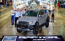 Ford Ranger Raptor 2018 bắt đầu được lắp ráp, giao hàng từ tháng 8