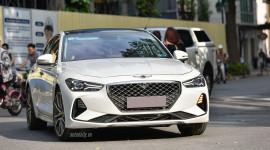 Diện kiến xe sang Genesis G70 giá hơn 1,7 tỷ trên phố Hà Nội