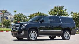 Ảnh chi tiết Cadillac Escalade Platinum ESV bán lại giá hơn 7 tỷ