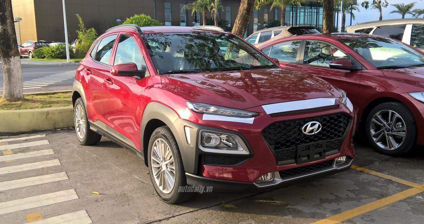 Hyundai KONA lộ thêm ảnh nóng, dự kiến ra mắt trong tháng 8