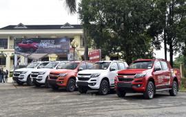 Chevrolet Colorado trang bị động cơ mới ra mắt tại Việt Nam