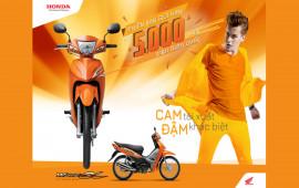 Honda Việt Nam giới thiệu Wave Alpha sản xuất chỉ 5.000 chiếc
