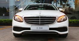 Mercedes-Benz E-Class nâng cấp trang bị, giá bán không đổi