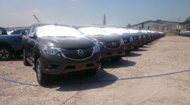 Lô xe nhập khẩu Mazda BT-50 mới đã về kho Thaco?