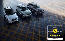 Volvo XC40 2018 ghi điểm tuyệt đối về độ an toàn