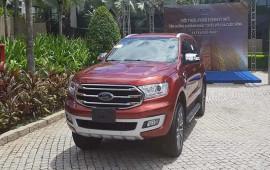 Ford Everest 2018 đã có mặt tại Việt Nam, giá dự kiến từ 850 triệu