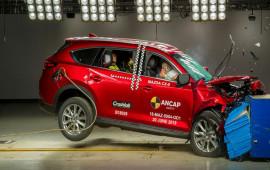 Mazda CX-8 2018 đạt điểm an toàn 5 sao từ ANCAP