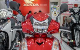 Ảnh chi tiết Honda SH300i phiên bản mới