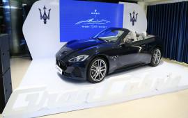 Maserati GranCabrio chính thức ra mắt tại thị trường Việt Nam