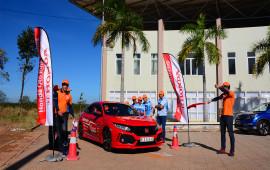 Honda Việt Nam tiếp tục đẩy mạnh hoạt động đào tạo lái xe an toàn