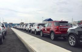 Xe sang nhập Mỹ Ford Explorer Limited 2018 đã về Việt Nam