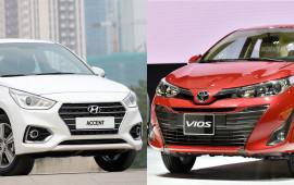 Chọn Hyundai Accent 1.4AT đặc biệt hay Toyota Vios 1.5G 2018?