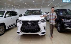 """Chi tiết """"chuyên cơ mặt đất"""" Lexus LX570 SuperSport 2018 giá gần 10 tỷ đồng"""