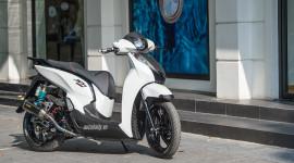 """Honda SH300i độ """"khủng"""" giá gần 500 triệu tại Hà Nội"""