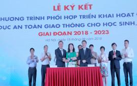 Honda Việt Nam tiếp trục triển khai các hoạt động ATGT giai đoạn 2018-2023