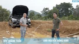 Thử thực tế khả năng nước lọt vào cầu trước trên Mercedes GLC tại Việt Nam