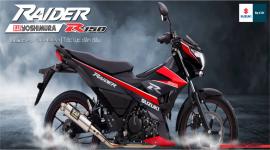 """Suzuki Raider R150 bản pô """"độ"""" Yoshimura có giá 49,9 triệu"""