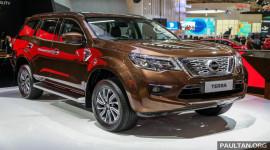 Nissan Terra động cơ Diesel chốt giá từ 39.700 USD