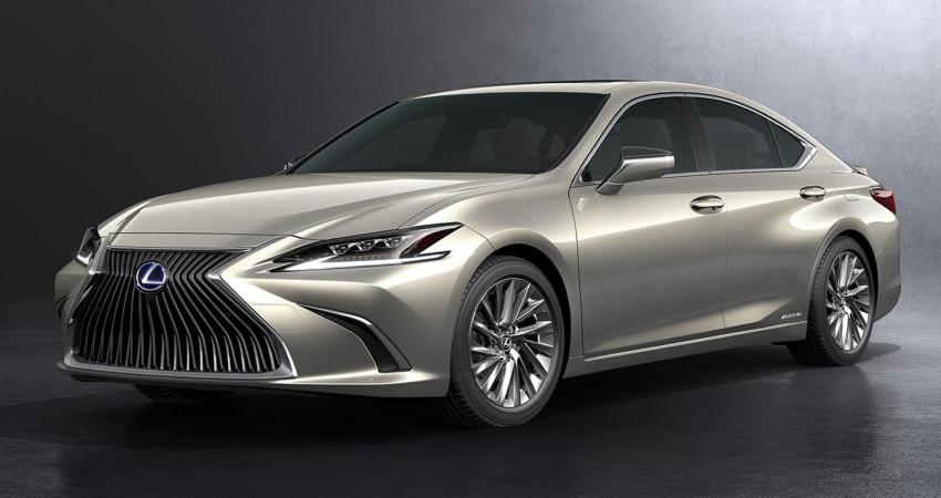 Lexus ES 2019 chốt giá từ 110.000 USD tại Đông Nam Á