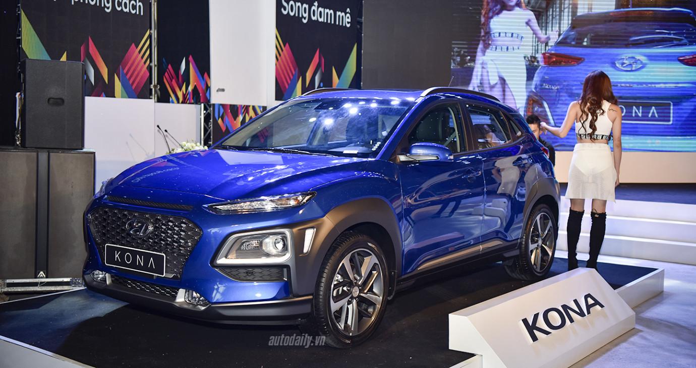 Hyundai KONA chính thức ra mắt tại Việt Nam, giá từ 615 triệu