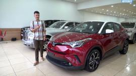 Chi tiết Toyota C-HR: Hàng hiếm tại Việt Nam