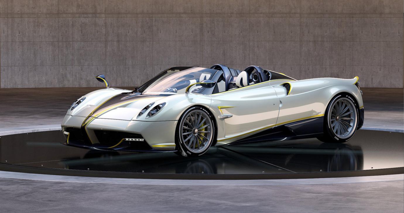 """Lộ diện siêu xe """"chim ưng"""" Huayra Roadster Gyrfalcon"""