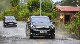 Honda CR-V 1.5L Turbo 2018 tiêu thụ 5,5 lít/100km