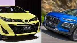 Khoảng giá 650 triệu chọn Toyota Yaris hay Hyundai KONA?
