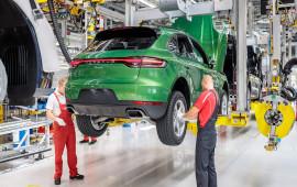 Porsche Macan 2019 bắt đầu đi vào sản xuất