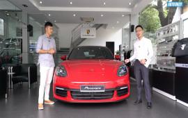 Choáng khi nghe sales Porsche chia sẻ về option tiền tỷ trên Panamera