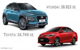 Vượt Toyota, Hyundai bán chạy nhất Việt Nam 8 tháng đầu năm