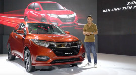 Video: Khám phá chi tiết Honda HR-V 2018 vừa ra mắt