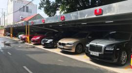 Garage ô tô khủng, độc của đại gia Bà Rịa-Vũng Tàu