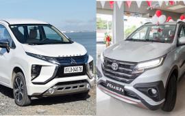 Nên đặt cọc Mitsubishi Xpander hay chờ Toyota Rush 2018?