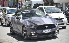 Ford Mustang mui trần màu cực chất của đại gia Hà Nội
