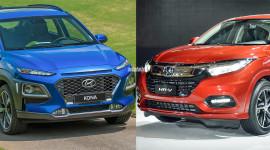 Honda HR-V 2018 vs. Hyundai Kona 2018: Bạn chọn xe nào?