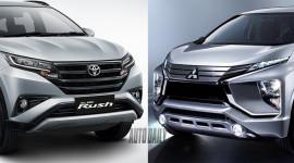 Mitsubishi Xpander 2018 và Toyota Rush 2018: Lợi thế nghiêng về xe nào?