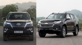 Toyota Fortuner và Chevrolet Trailblazer: Hàng ghế 3 xe nào ngồi dễ chịu hơn?