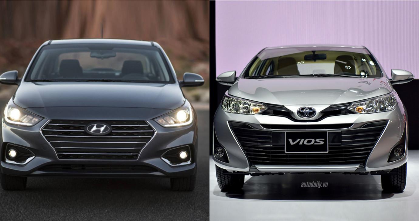 Chạy dịch vụ, chọn Hyundai Accent MT hay Toyota Vios MT?