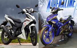 So sánh Yamaha Exciter 150 2019 và Honda Winner 150 2017