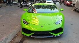 Đại gia Hải Phòng tậu siêu xe Lamborghini Huracan LP610-4