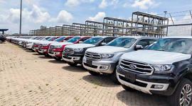 Hơn 3.000 ôtô nhập khẩu về Việt Nam tuần qua