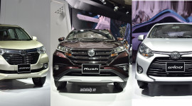 Giá lăn bánh bộ ba Toyota Rush, Wigo và Avanza
