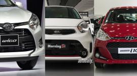 Hơn 400 triệu, chọn Toyota Wigo, Hyundai Grand i10 hay Kia Morning?