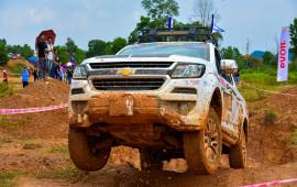 Chevrolet Colorado vô địch hạng bán tải Việt Nam tại VOC 2018