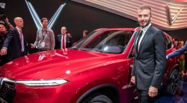 |VINFAST| Chùm ảnh David Beckham sánh vai cùng xe Vinfast