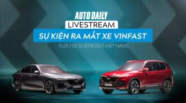 |VINFAST| Trực tiếp lễ ra mắt xe VinFast tại Paris Motor Show