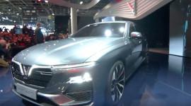 |VINFAST| Những hình ảnh NÓNG của Sedan VinFast LUX A2.0 tại Paris Motor Show